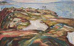 Munch's Coastal Landscape (1918)