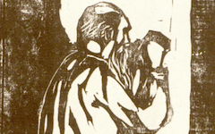 Munch's Old Man Praying (1902)