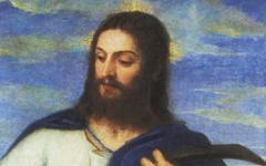 Titian's Noli Me Tangere fragment (1553-4)