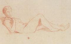Manet's Olympia Study (1862-63)