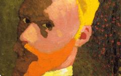Vuillard's Octagonal Self-Portrait (1890)
