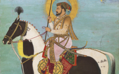 Payag's Shah Jahan Riding a Stallion (c.1628)