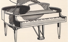 Lichtenstein's Piano (c.1961)