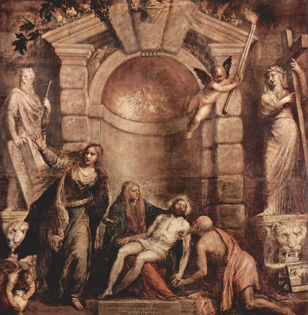 Titian's Pieta (c.1575)