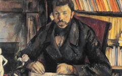 Cézanne's Portrait of Geffroy (1895) and later portraits