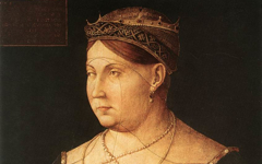 Bellini's Portrait of Caterina Cornaro, Queen of Cyprus (c.1500)