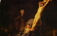 Rembrandt's Raising of the Cross (c.1633)