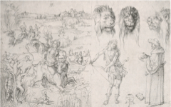 Dürer's Rape of Europa and Other Studies (1494-5)