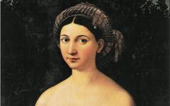 Raphael's La Fornarina (1518-20)