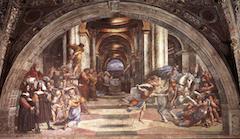 Raphael's Expulsion of Heliodorus (1511-12)