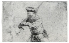 Rembrandt's The Skater (c.1631)