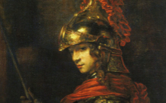 Rembrandt's Man in Armour (1655) and Minerva (c.1655)
