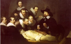 Rembrandt's Anatomy Lesson of Dr. Tulp (1632)