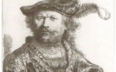 Rembrandt's Self-portrait in Sixteenth-Century Costume (1638)