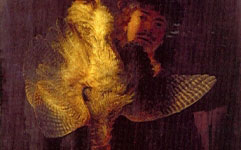 Rembrandt's Self-portrait with a Dead Bittern (1639)