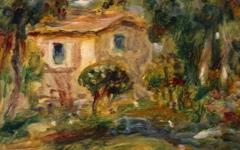Renoir's Le Cannet (1902)
