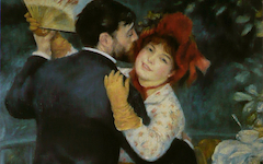 Renoir's Dance in the Country (1883)