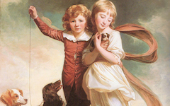 Romney's The Clavering Children (1777-8)
