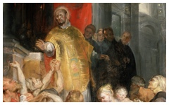 Rubens' Miracles of St. Ignatius of Loyola (c.1619)