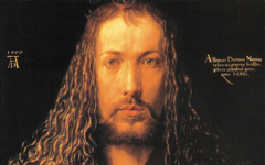 Dürer's Self-portrait as Christ (1500)