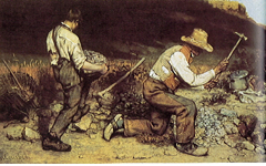 Courbet's The Stonebreakers (1849)
