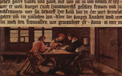 Holbein's Earliest Extant Painting (1516)