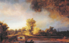 Rembrandt's Landscape with a Stone Bridge (1638)