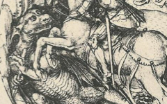 Schongauer's St. George and the Dragon (c.1480)