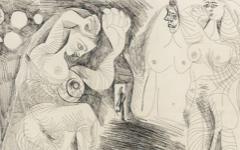 Picasso's La Maison Tellier (1971)