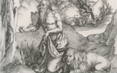 Dürer's St. Jerome in the Wilderness (1496)