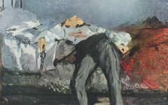 Manet's The Suicide (c.1871)