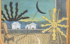 De Chirico's Sun on the Easel (1973) Part 1
