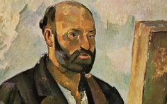 Cézanne's Self-Portrait with a Palette (1885-7)