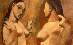 Picasso's Two Nudes (1906)