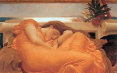 Lord Leighton's Flaming June (1895)