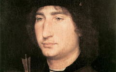 Memling's Man with an Arrow (1478-80)