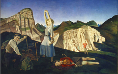 Balthus' The Mountain (1937) Part 1