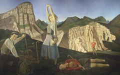 Balthus' The Mountain (1937) Part 2