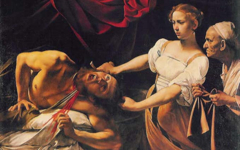 Caravaggio's Judith and Holofernes (c.1599)