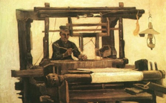 Van Gogh's Weavers (1884)