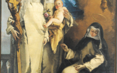 Tiepolo's Virgin Appearing to St. Catherine… (1748)