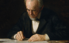 Eakins' The Writing Master (1882)