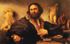 Lotto's Portrait of Andrea Odoni (1527)