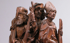Remenschneider's Three Helper Saints (c.1500-05)