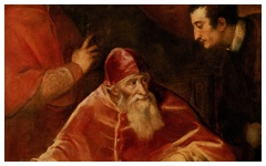 Titian's Pope Paul III and His Grandsons (1545-6)