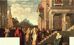 Titian's Presentation of the Virgin in the Temple (1534-38)