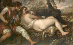 Titian's Shepherd and Nymph (c.1575-6)
