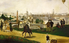 Manet's View of the Universal Exhibition (1867)