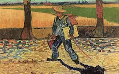 Van Gogh's On the Road to Tarascon (1888)