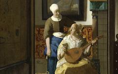 Vermeer's The Love Letter (c.1669-70)